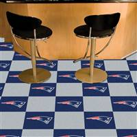 "New England Patriots Carpet Tiles 18""x18"" Tiles, Covers 45 Sq. Ft."