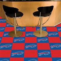 "Buffalo Bills Carpet Tiles 18""x18"" Tiles, Covers 45 Sq. Ft."