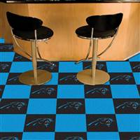"Carolina Panthers Carpet Tiles 18""x18"" Tiles, Covers 45 Sq. Ft."