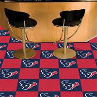 "Houston Texans Carpet Tiles 18""x18"" Tiles, Covers 45 Sq. Ft."