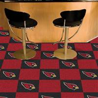 "NFL - Arizona Cardinals Team Carpet Tiles 18""x18"" tiles"