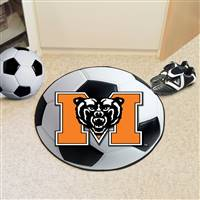 "Mercer University Soccer Ball Mat 27"" diameter"