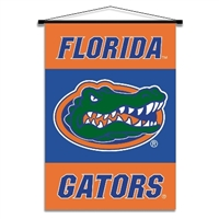 Florida Gators Indoor Banner Scroll