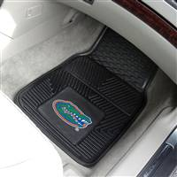 "Florida Gators Heavy Duty 2-Piece Vinyl Car Mats 18""x27"""