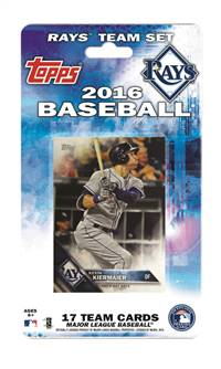 Tampa Bay Rays Topps Team Set - 2016 -