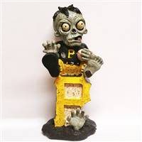 Pittsburgh Pirates Zombie Figurine - On Logo