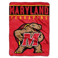 Maryland Terrapins Blanket 60x80 Raschel Basic Design
