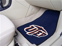 "UTEP 2-piece Carpeted Car Mats 18""x27"""
