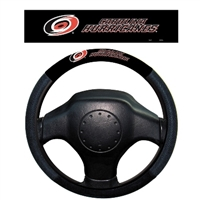 Carolina Hurricanes Poly-Suede Steering Wheel Cover