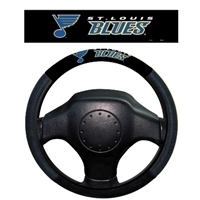 St. Louis Blues Poly-Suede Steering Wheel Cover