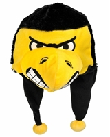 Iowa Hawkeyes Mascot Themed Dangle Hat