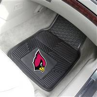 "NFL - Arizona Cardinals 2-pc Vinyl Car Mat Set 17""x27"""