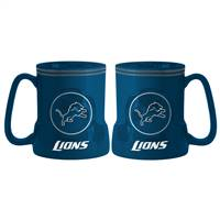 Detroit Lions Coffee Mug - 18oz Game Time (New Handle)