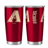Arizona Diamondbacks Travel Tumbler 20oz Ultra Silver