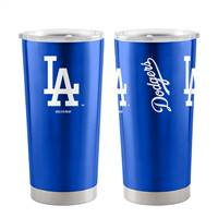 Los Angeles Dodgers Travel Tumbler 20oz Ultra Silver