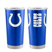 Indianapolis Colts Travel Tumbler 20 oz Ultra Blue