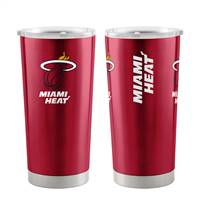 Miami Heat Travel Tumbler 20oz Ultra Red - Special Order