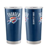 Oklahoma City Thunder Travel Tumbler 20oz Ultra Blue