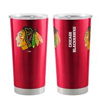 Chicago Blackhawks Travel Tumbler 20oz Ultra Red