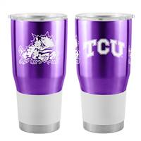 TCU Horned Frogs Travel Tumbler 30oz Ultra Purple - Special Order