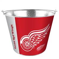 Detroit Red Wings Bucket 5 Quart Hype Design Special Order