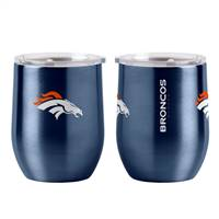 Denver Broncos Travel Tumbler 16oz Ultra Curved Beverage
