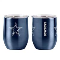 Dallas Cowboys Travel Tumbler 16oz Ultra Curved Beverage