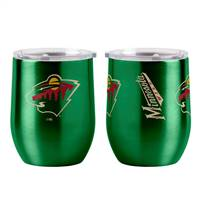 Minnesota Wild Travel Tumbler 16oz Ultra Curved Beverage Special Order