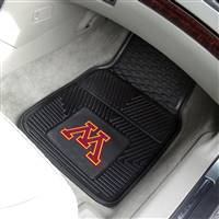 Minnesota Golden Gophers 2-pc Heavy Duty Vinyl Car Mat Set