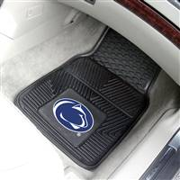 "Penn State Nittany Lions Heavy Duty 2-Piece Vinyl Car Mats 18""x27"""