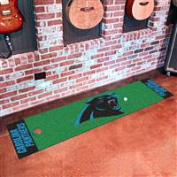 "Carolina Panthers Putting Green Runner Mat 18""x72"""