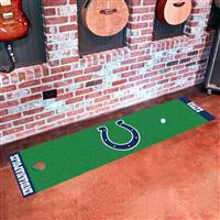 "Indianapolis Colts Putting Green Runner Mat 18""x72"""