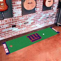 "New York Giants Putting Green Runner Mat 18""x72"""