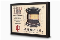 Stadium Views Wall Art Series;Indiana Hoosiers