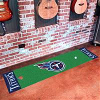 "Tennessee Titans Putting Green Runner Mat 18"" x 72"""