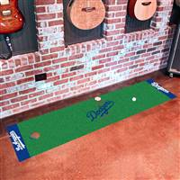 "Los Angeles Dodgers Putting Green Runner Mat 18""x72"""