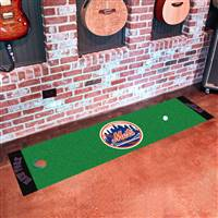 "New York Mets Putting Green Runner Mat 18""x72"""