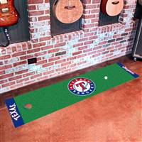 "Texas Rangers Putting Green Runner Mat 18"" x 72"""