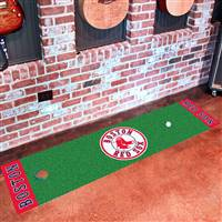 "Boston Red Sox Putting Green Runner Mat 18""x72"""