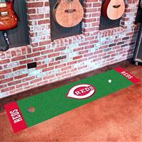 "Cincinnati Reds Putting Green Runner 24""x96"""