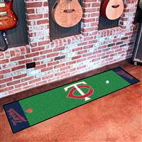 "Minnesota Twins Putting Green Runner Mat 18""x72"""
