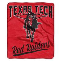 Texas Tech Red Raiders Blanket 50x60 Raschel Alumni Design