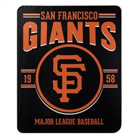 San Francisco Giants Blanket 50x60 Fleece Southpaw Design