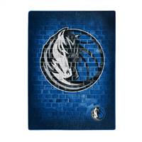 Dallas Mavericks Blanket 60x80 Raschel Street Design