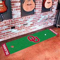 "Oklahoma Sooners Putting Green Runner Mat 18""x72"""