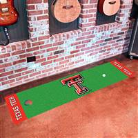 "Texas Tech Red Raiders Putting Green Runner Mat 18"" x 72"""