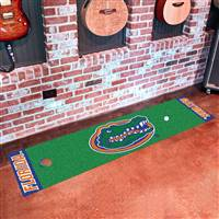 "Florida Gators Putting Green Runner Mat 18""x72"""