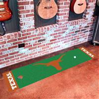"Texas Longhorns Putting Green Runner Mat 18"" x 72"""