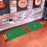 "University of Southern California Putting Green Mat 18""x72"""