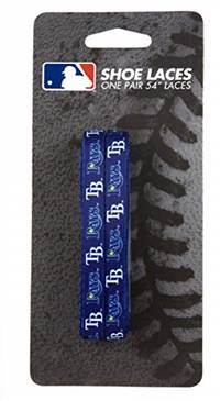 Tampa Bay Rays Shoe Laces 54 Inch - Special Order